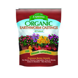 Espoma Earthworm Castings Organic Fertilizer 4 qt.