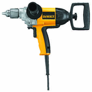 DeWalt  1/2 in. Keyed  Spade Handle Corded Drill  9 amps 550 rpm