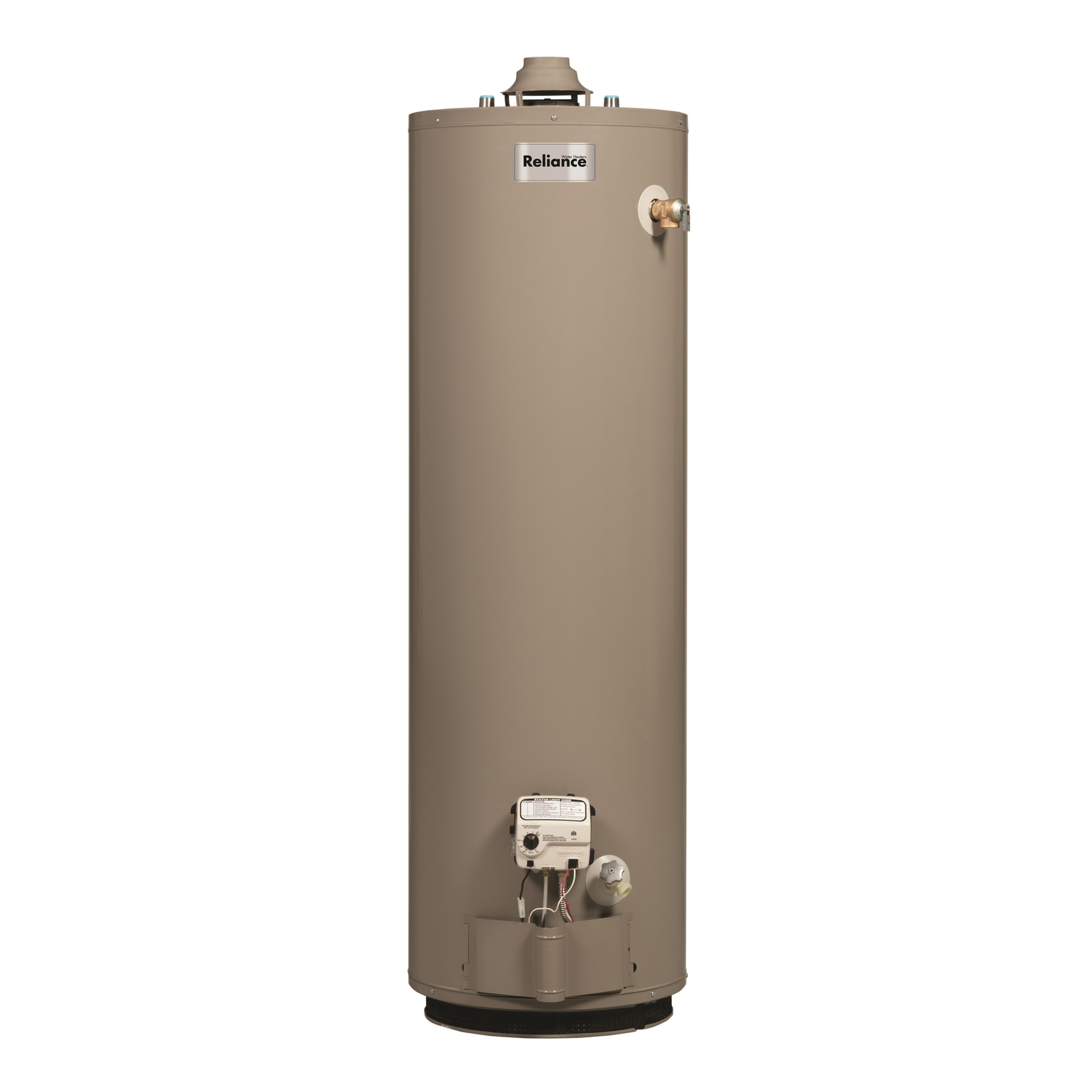 Reliance  Natural Gas  Water Heater  62 in. H x 20 in. W x 20 in. L 40 gal.