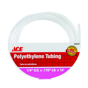 ProLine  0.17 in. Dia. x 15 ft. L Polyethylene  Tubing