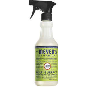 Mrs. Meyer's  Clean Day  Lemon Verbena Scent Multi-Surface Cleaner Spray  16 oz. Liquid  For Walls