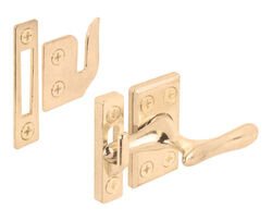 Prime-Line Brass-Plated Die-Cast Zinc Casement Lock 1 pk