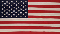 Valley Forge American Flag 29 in. H x 50 in. W