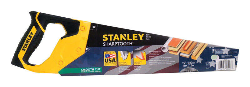 Stanley Sharptooth Saw 12 Point/Inch 15 in.