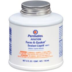 Permatex Form-A-Gasket Type-3 Gasket Sealant 4 oz. 1 pk