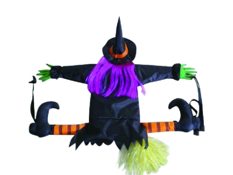 Gemmy  Crashing Witch  Halloween Decoration