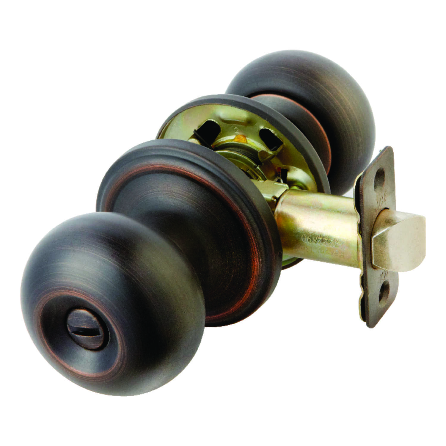 Ace  Colonial  Oil Rubbed Bronze  Privacy Lockset  ANSI/BHMA Grade 3  1-3/4 in.