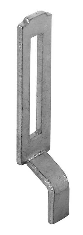 Prime-Line  Zinc-Plated  Steel  Latch Strike  1 pk