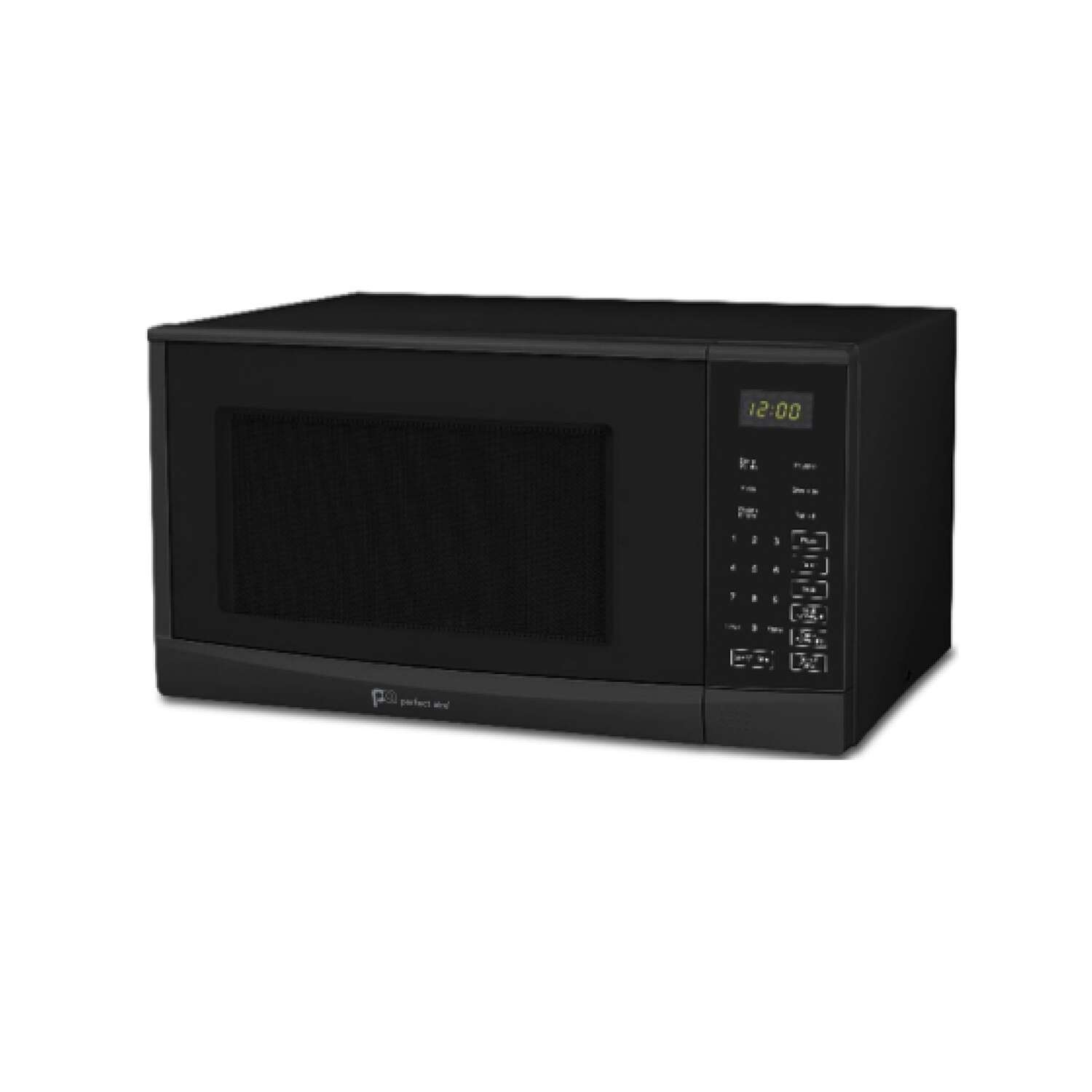 Perfect Aire  1.3 cu. ft. Black  Microwave  1000 watt