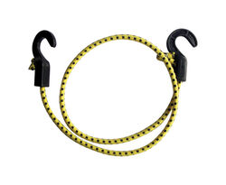 Keeper  Zip Cord  Yellow  Bungee Cord  40 in. L x 0.315 in.  1 pk