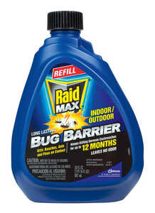 Raid  Bug Barrier  Bug Barrier  Liquid  30 oz. For Ants, Variety of Insects, Fleas