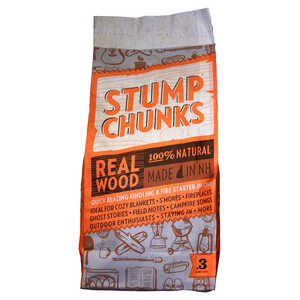 Stump Chunks  Wood Fiber  Fire Starter  0.3 cu. ft.