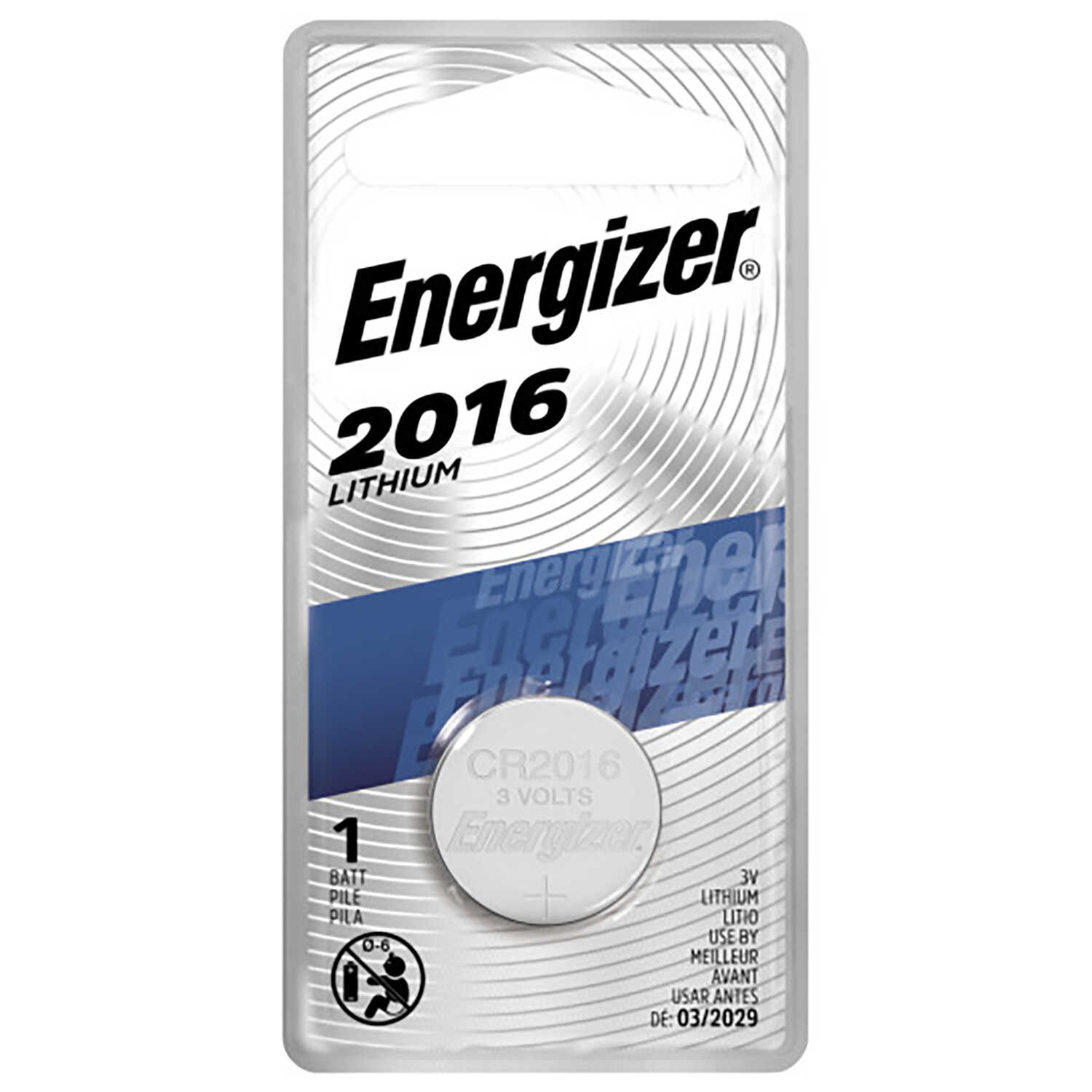 Energizer  Lithium  2016  3 volt Keyless Entry Battery  1 pk