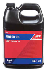 Ace  SAE 30  Motor Oil  1 gal.