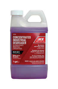 Ace  Non-scented Scent Industrial Degreaser  1/2 gal. Liquid