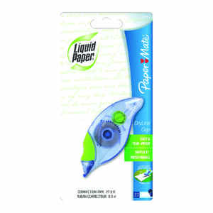 Papermate  White  0.1 oz. 1  Correction Tape