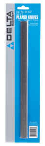 Delta  12 in. L High Speed Steel  Planer Knives  Double-Edged 2 pk