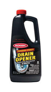 Roebic  Professional Strength  Liquid  Drain Opener  32 oz.