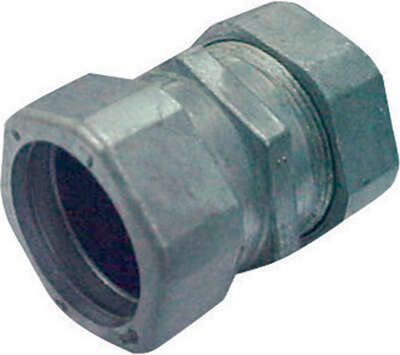 Sigma Electric  ProConnex  1 in. Dia. Die-Cast Zinc  Compression Coupling  For AC, MC and FMC/RWFMC