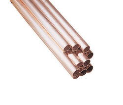 Reading  2 in. Dia. x 10 ft. L Type L  Copper Tubing