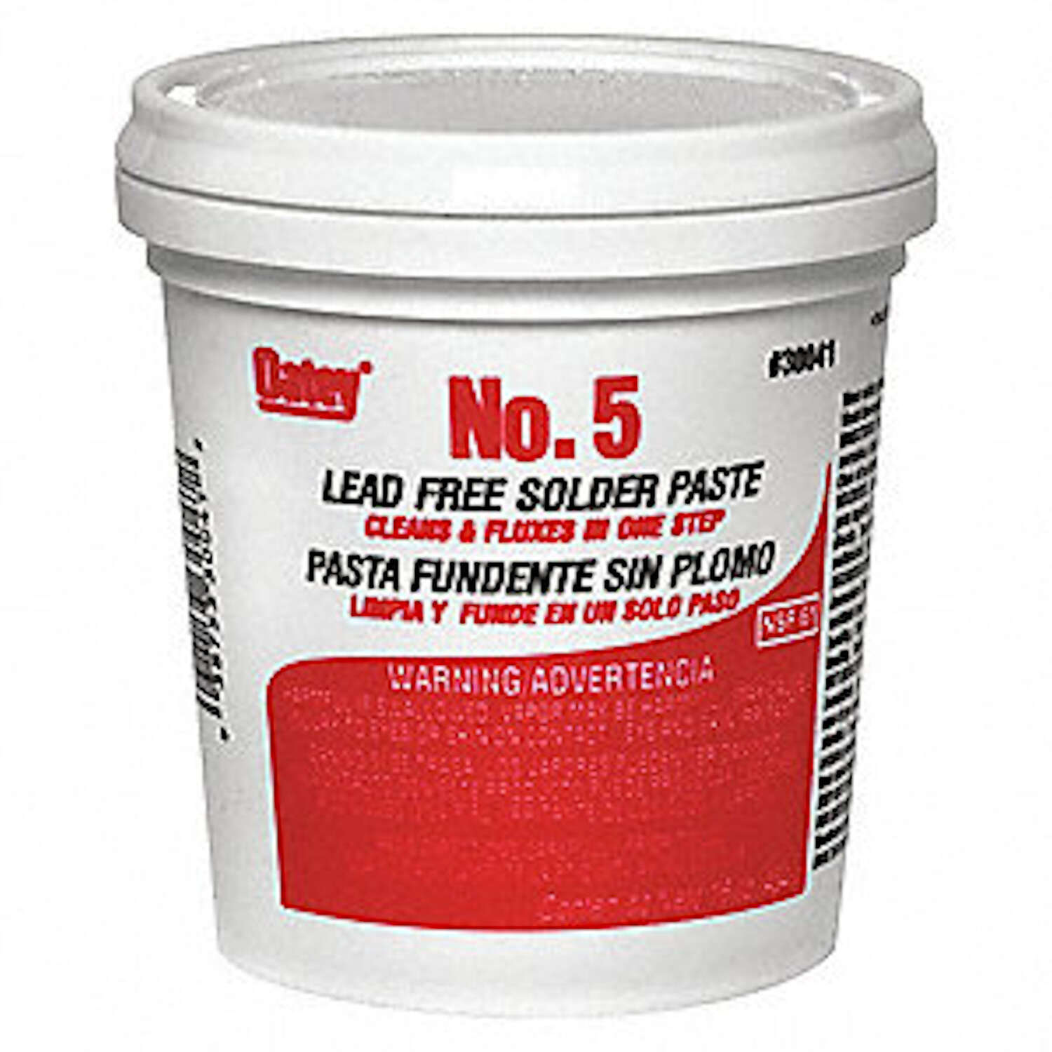 Oatey  16 oz. Lead-Free Paste Flux  1 pc. Petrolatum  NSF