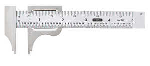 General Tools  4 in. L x 2-3/4 in. W Slide Caliper