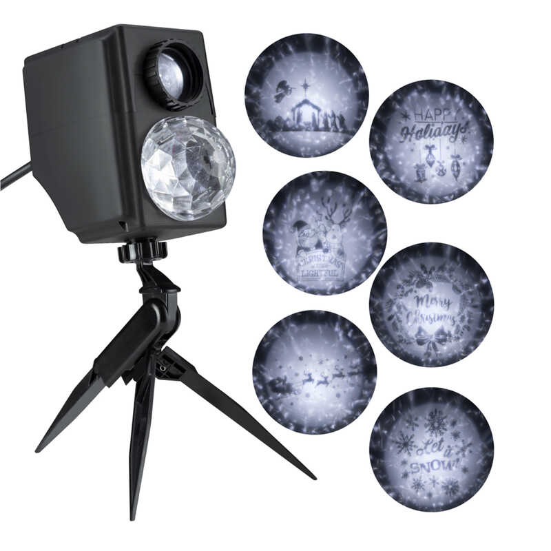 Gemmy  Kaleidoscope Silhouette  LED  Light Show Projector  Multicolored