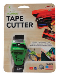 Tadpole  1 in. W x 2 inch  L Tape Cutter  Green