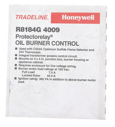 Honeywell 120 volt Oil Burner Control