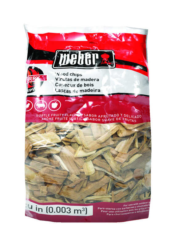 Weber  Firespice  Cherry  Wood Smoking Chips  192 cu. in.