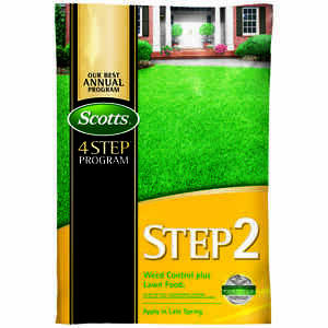 Scotts  Step 2  28-0-3  Weed and Feed  For All Grass Types 43 lb. 15000 sq. ft.