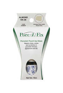 Porc-A-Fix  Porcelain  Beige  0.5 oz. Touch-Up Glaze