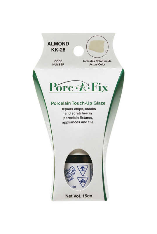 Porc-A-Fix  Porcelain  Almond  0.5 oz. Touch-Up Glaze