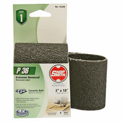 Shopsmith  18 in. L x 3 in. W Ceramic  Sanding Belt  36 Grit Coarse  1 pc.