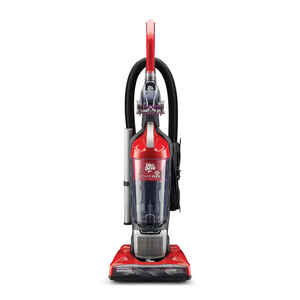 Dirt Devil  Power Flex Pet  Bagless  Corded  Upright Vacuum  8 amps Red  HEPA