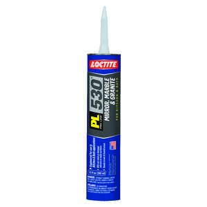 Loctite Adhesive Mirror, Marble and Granite  Tube 10 oz. Low VOC