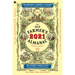 The Old Farmers Almanac  Yankee Publishing  2021 Almanac  Reference Book