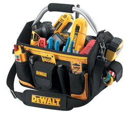 DeWalt  10.25 in. W x 14.75 in. H Polyester  Tool Carrier  23 pocket Black/Yellow  1 pc.
