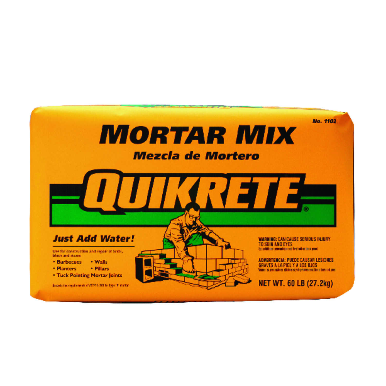Quikrete Mortar Mix 60 Lb Ace Hardware