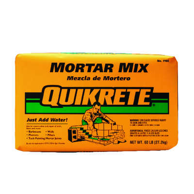 Quikrete  Mortar Mix  60 lb.