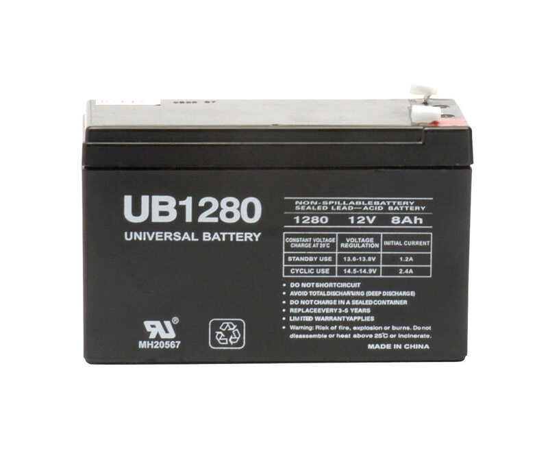 Universal Power Group  UB1280  8 amps Universal Battery