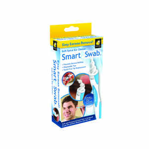 Telebrands  Smart Swab As Seen On TV  Personal Care  Ear Wax Remover  Rubber/Plastic  1 pk