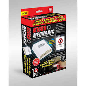 Micro Mechanic  As Seen On TV  1 pk Automotive Diagnostic Tool