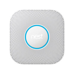 Google  Nest  Hard-Wired w/Battery Back-up  Split-Spectrum  Smoke and Carbon Monoxide Detector w/Wi-