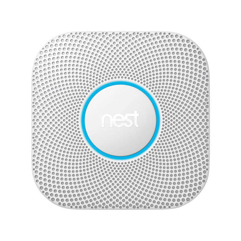 Nest Protect  2nd Generation  Battery-Powered  Split-Spectrum  Smoke and Carbon Monoxide Detector w/