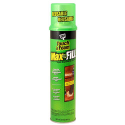 Touch 'n Foam  Max Fill  Tan  Polyurethane  Foam  Sealant  20 oz.