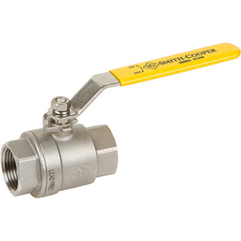 Smith Cooper  International  Stainless Steel  Ball Valve