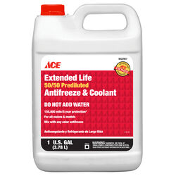 Ace 50/50 Antifreeze/Coolant 1 gal.
