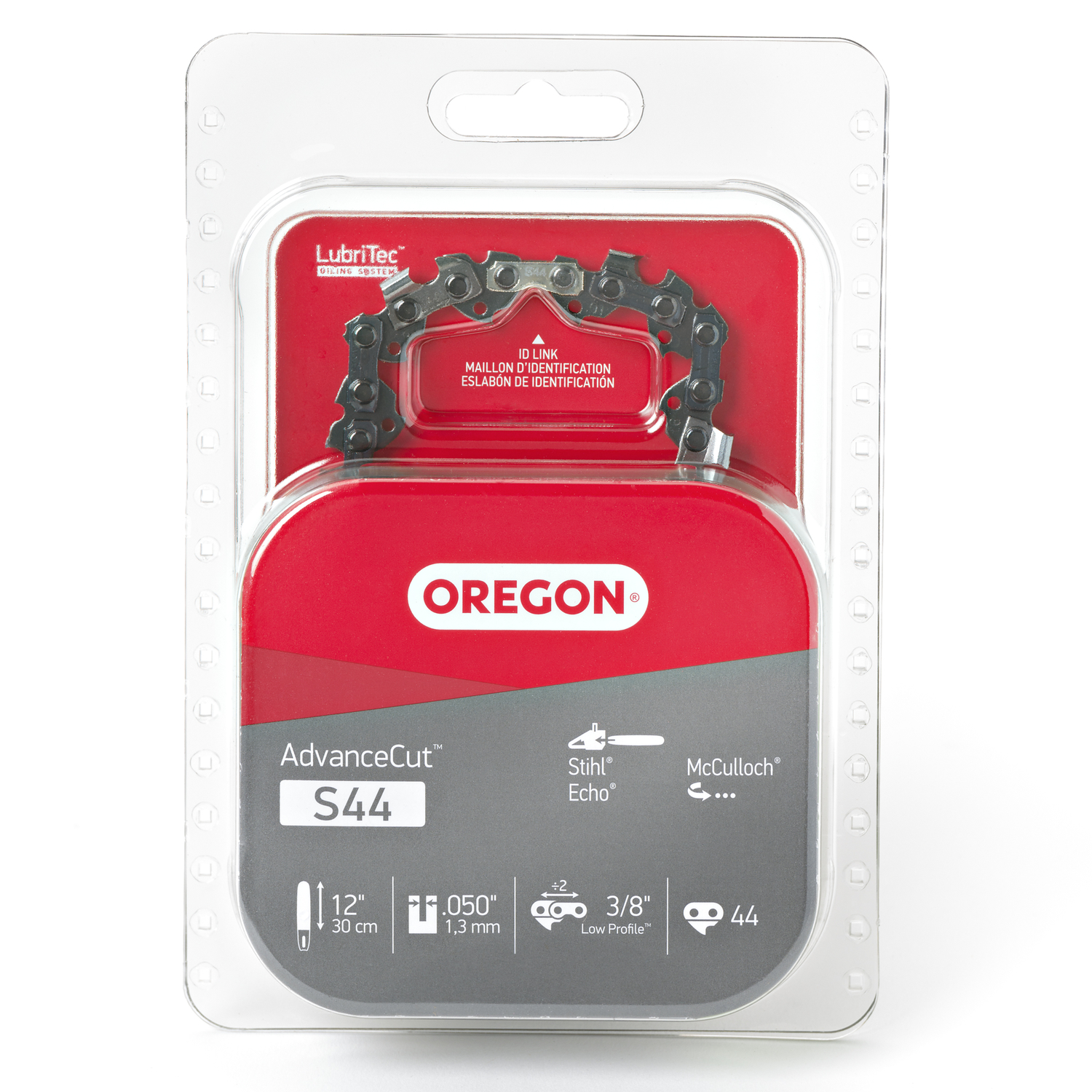 Oregon  12 in. L 44 links Chainsaw Chain