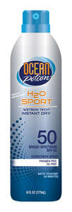 Ocean Potion  Continuous Spray Sunscreen  6 oz. 1 pk Water Sport